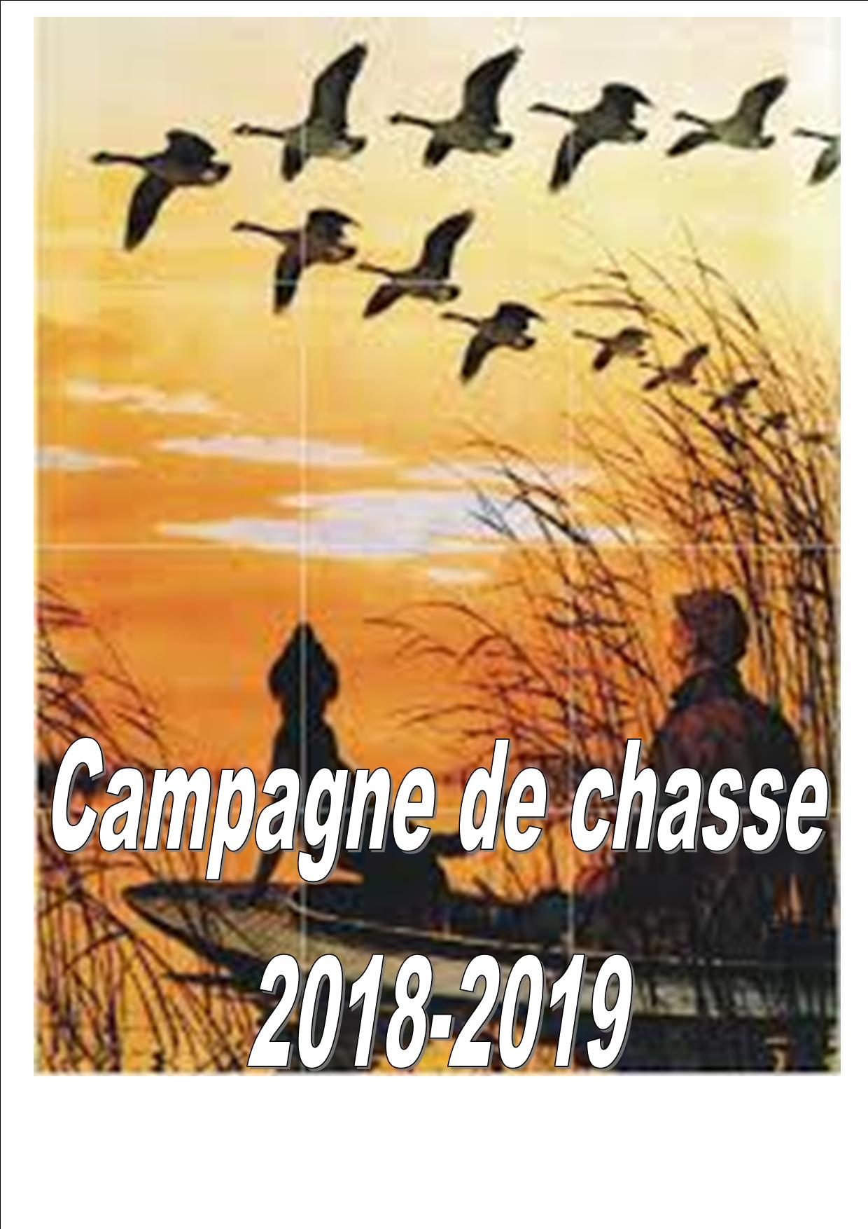 chasse 2018